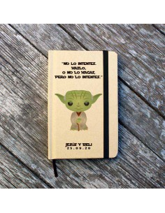 Libreta Personalizada Yoda...