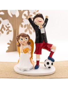 Figura Pastel Futbol Pop&Fun