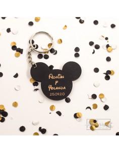 Llavero de Boda Mickey Mouse