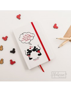 Libreta Mickey & Minnie...