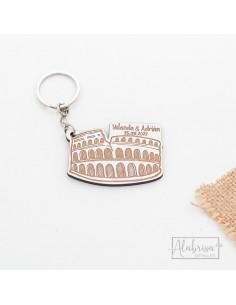 Llavero Boda con Coliseo...