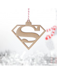 Bola de Navidad Superman en...
