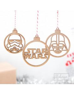 Bolas de Navidad Star Wars...