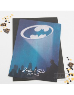 Invitación de Boda Batman...