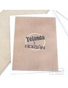 Alfileres de madera para Boda Flamenco