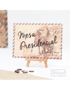 Mesero Boda Postal Jerez