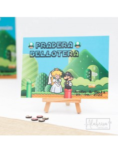 Mesero Boda Super Mario...