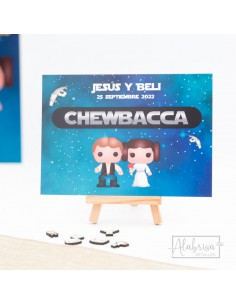Mesero Boda Star Wars