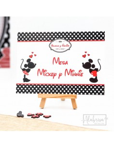 Mesero Boda Mickey & Minnie...