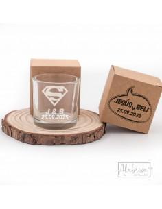 Vaso de Chupito Boda Superman