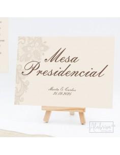 Mesero Boda Clásica Telada