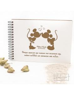Libro de Firmas Boda Mickey...