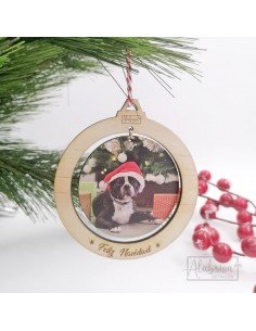 Bola de Navidad con Foto...