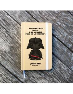 Libreta Personalizada Darth...