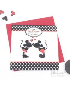 Invitación de Boda Mickey &...