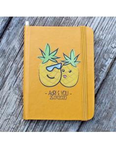 Libreta Tropical Personalizada