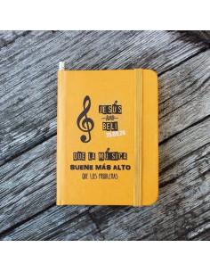 Libreta Personalizada Música